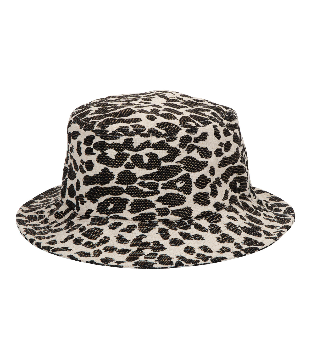 Bucket Hat mit Leopardenmuster