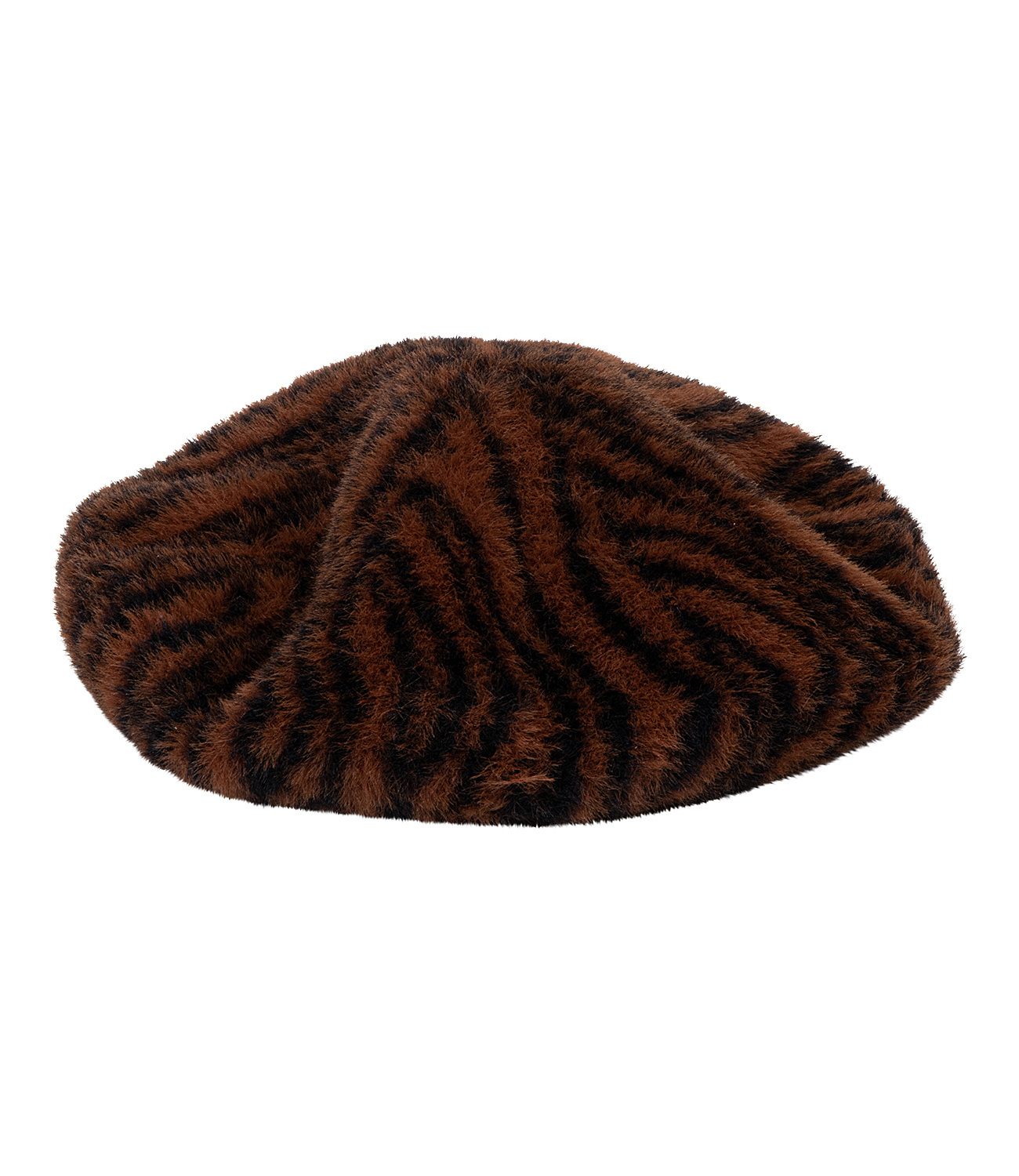 Baskenmütze Animal-Print
