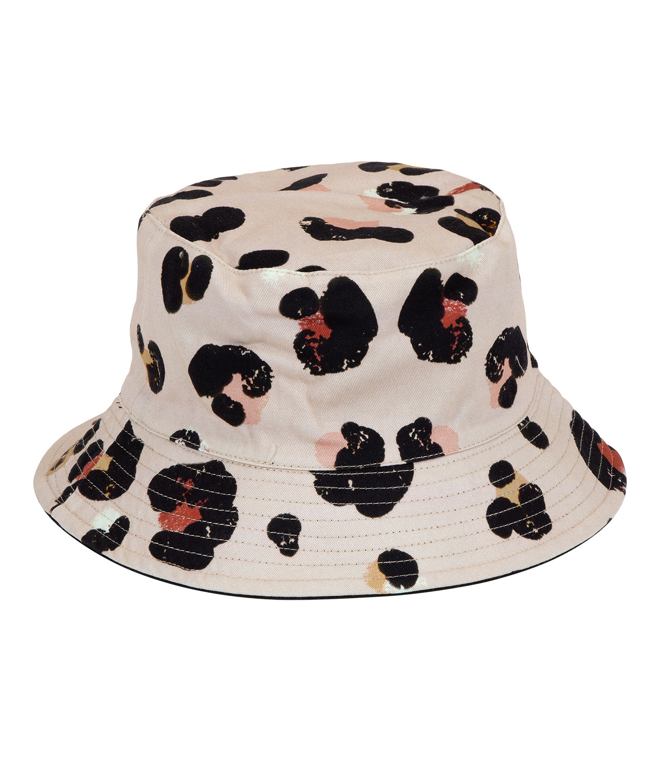Bucket Hat im geflecktem Design